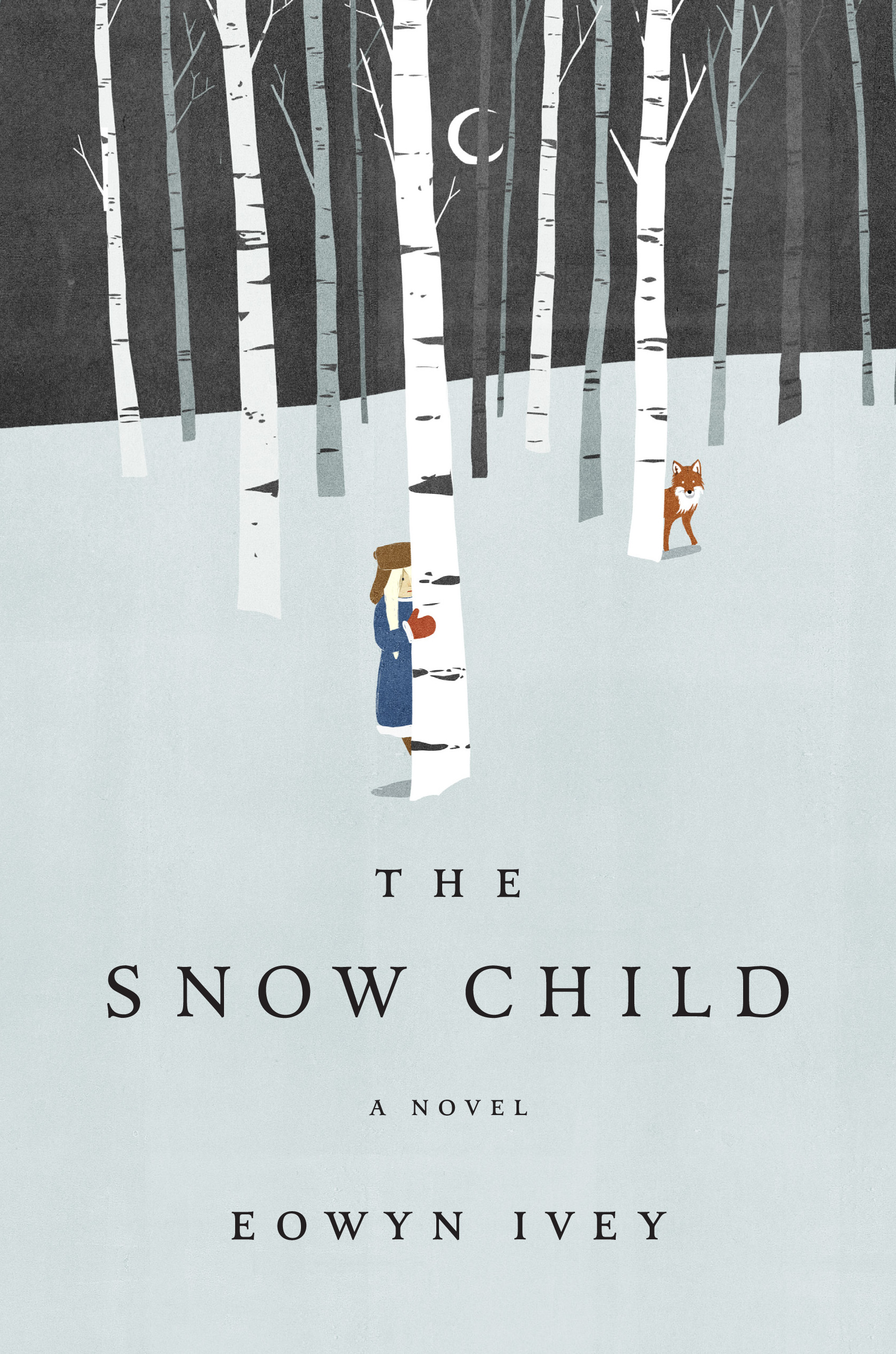 Image result for eowyn ivey the snow child book cover