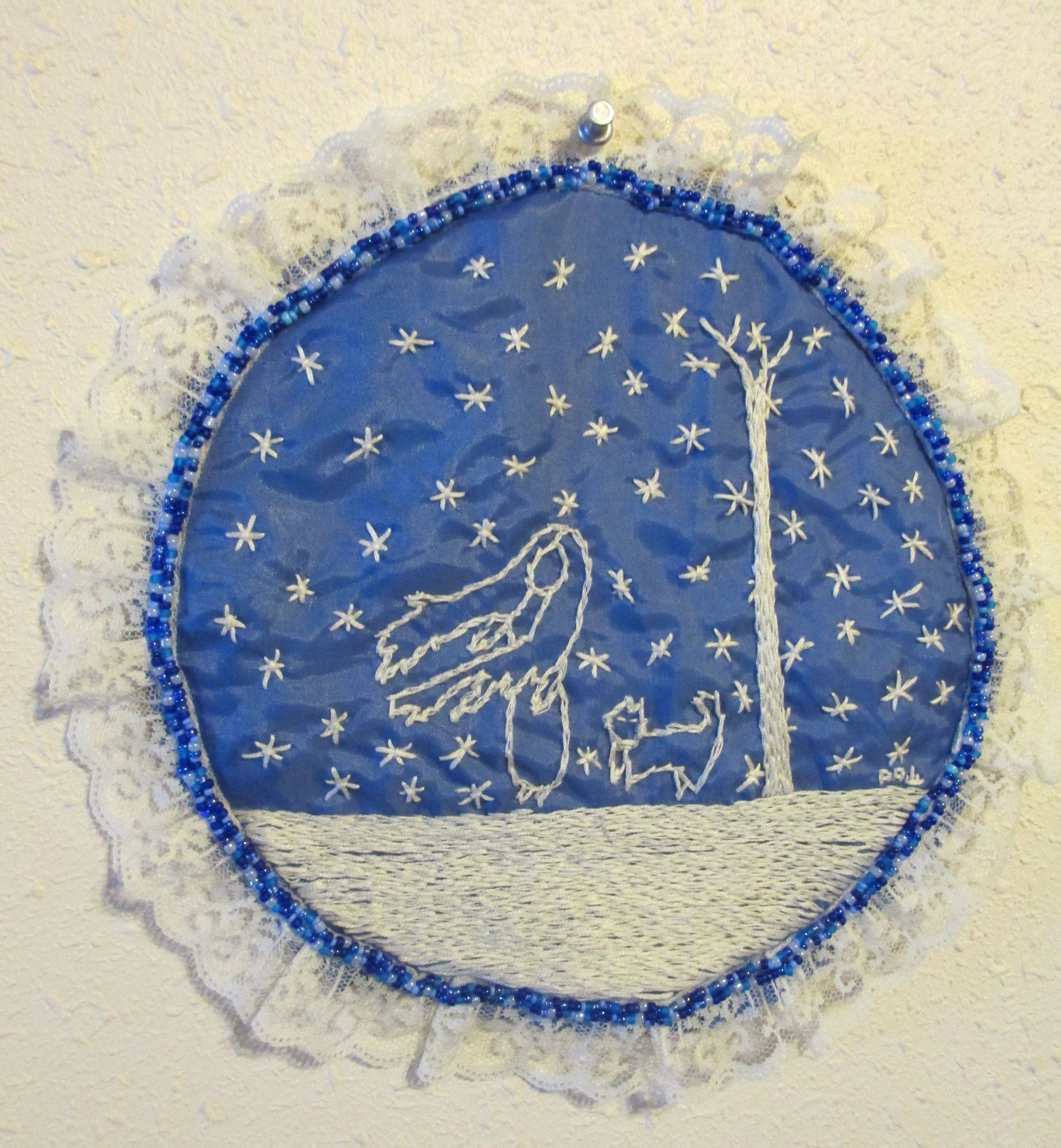Annie Aube embroidery