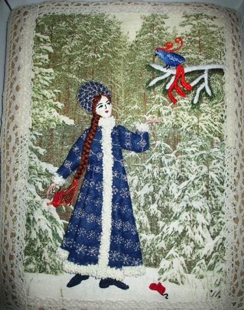 Yuliya Klem embroidery